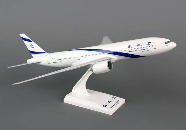Skymarks El Al  777-200 1/200 Scale Plane with Stand