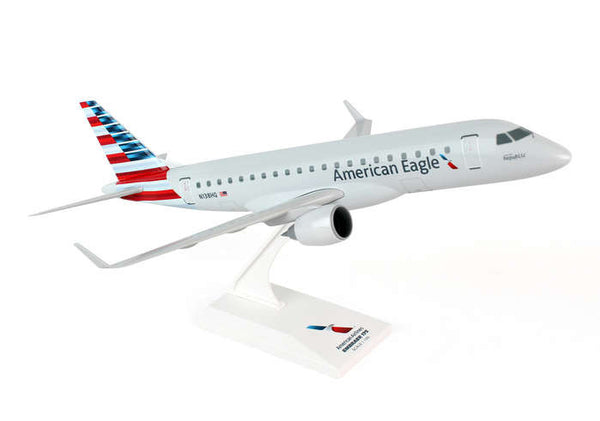Skymarks American Eagle ERJ175 (New Livery) 1/100 Scale Model w Stand Operated by Republic Airways