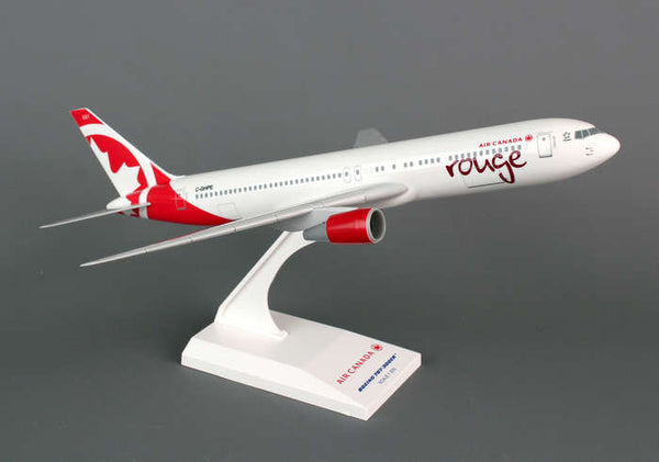 Skymarks Air Canada Rouge Boeing 767-300 1/200 Scale Model with Stand