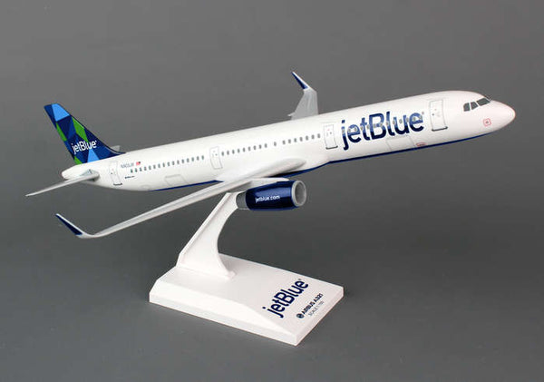 Skymarks JetBlue Airbus A321 1/150 Model Plane with Stand