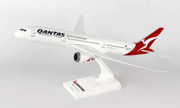 Skymarks Model Qantas Boeing 787-9 1/200 Scale with Stand