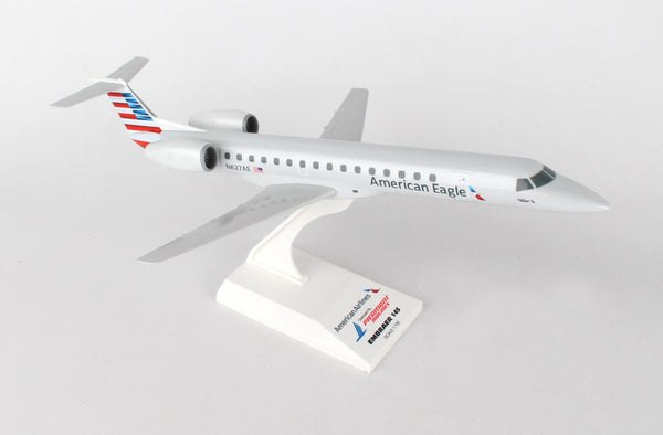 Skymarks SKR906 American Eagle (Piedmont) Embraer ERJ 145 1/100 Scale with Stand N627AE