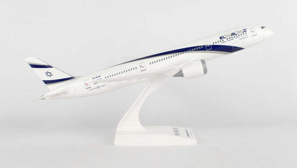 Skymarks El Al Boeing Dreamliner 787-9 1/200 Scale Plane with Stand 4X-EDA