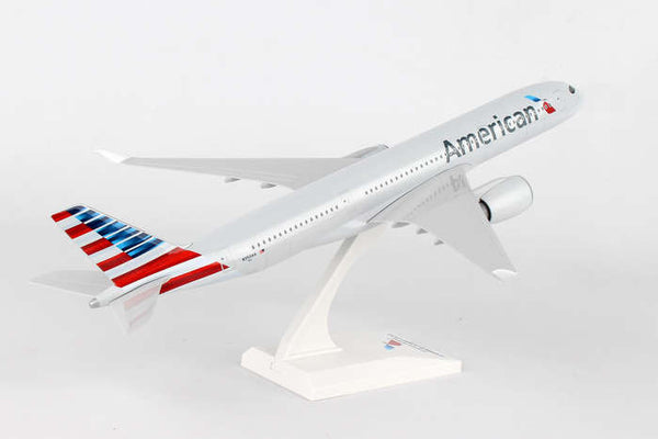 Skymarks American Airlines Airbus A350-900 1/200 Scale Plane with Stand N350AA