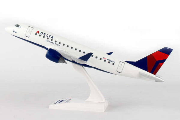 Skymarks Delta Connection Skywest Airlines ERJ175 1/100 Scale Plane with Stand N240SY