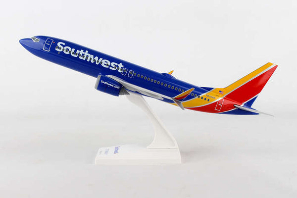 Skymarks Southwest Boeing 737 Max 8 1/130 Scale Model with Stand N8706W