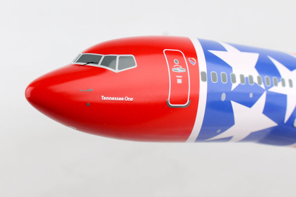 Skymarks Southwest Tennessee One N922WN Boeing 737-700 1/130 Scale with Stand