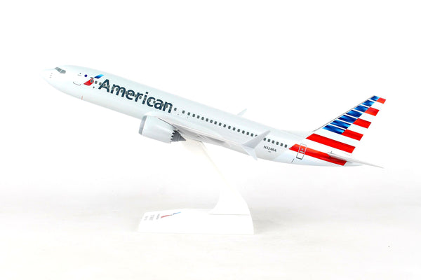Skymarks American Airlines Boeing 737 Max 8 1/130 Scale Model with Stand N324RA