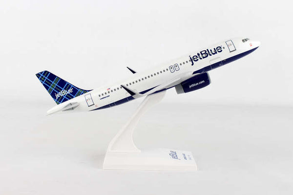 Skymarks Jetblue (Tartan Tail) Airbus A320 1/150 Scale Model with Stand