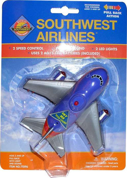 Southwest Airlines Pullback Plane with Lights & Sound