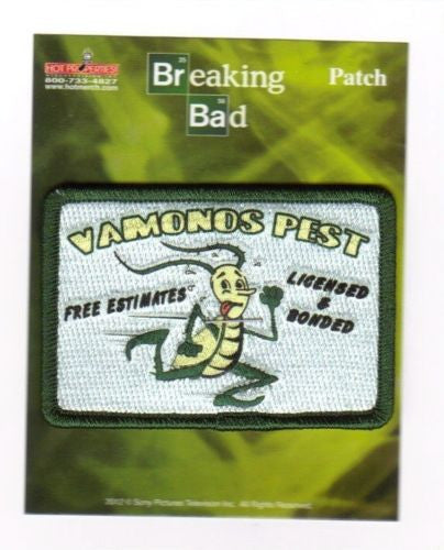 "Copy of Breaking Bad Vamonos Pest Patch 3"" by 2"""
