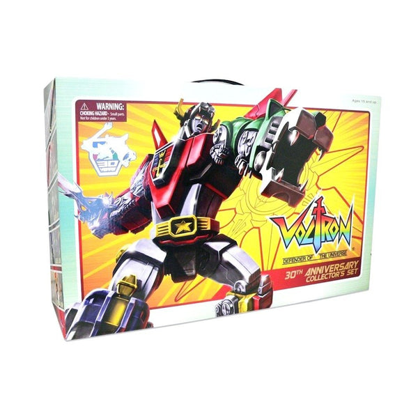 Voltron 30th Anniversary Jumbo Lion Collector's Set
