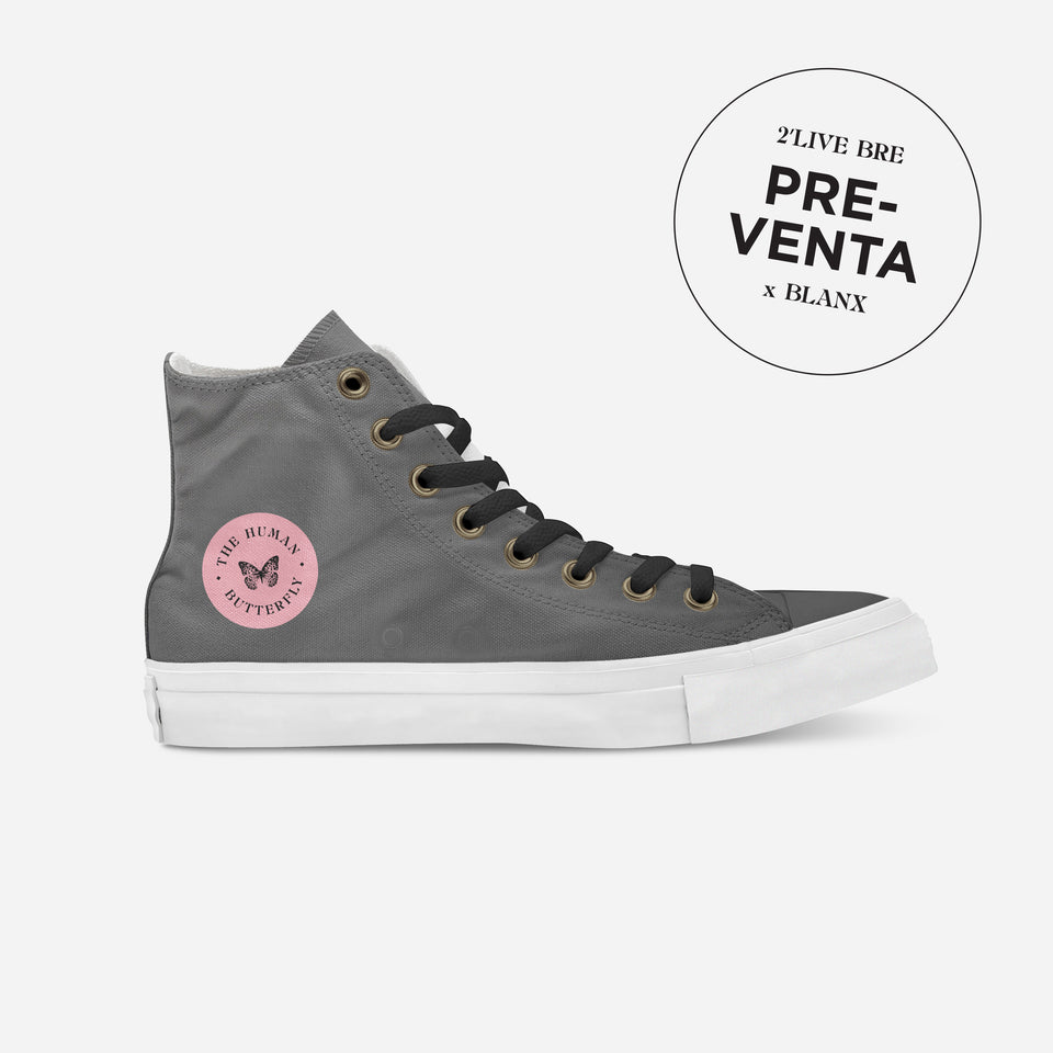 Breion Hope in Gray High-Top | XY