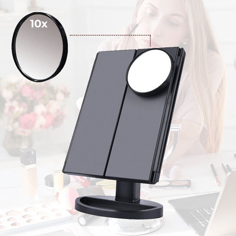 vanity mirror with lights,Makeup mirror with lights,light up makeup mirror,magnifying