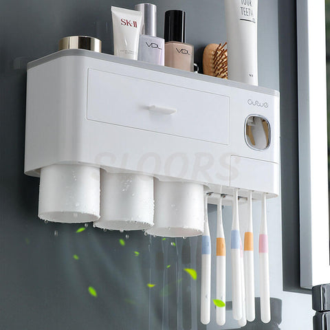 wall mounted toothbrush holder, airy