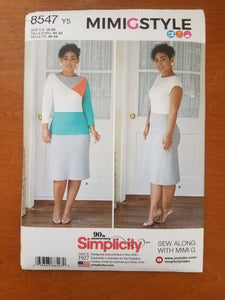 Simplicity Pattern 8547 Y5 MIMIGSTYLE Women's dresses