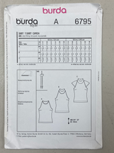 Load image into Gallery viewer, Burda Young Women's Shirt 6795 Pattern