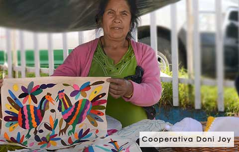Cooperativa Doni Joy - Mexican Otomi embroidery