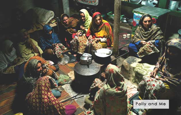 Polly and Me - Textiles, Bags and Clutches from Pakistan