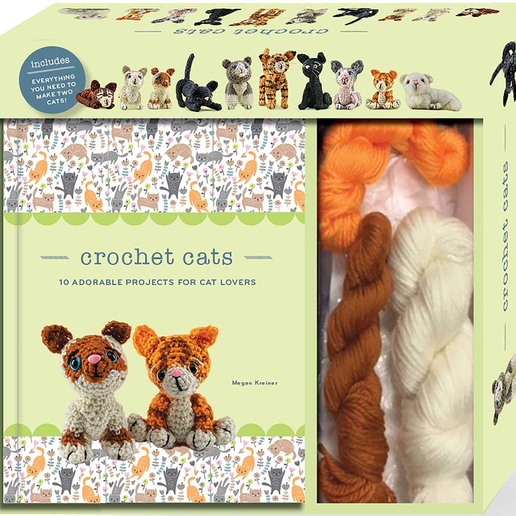 Crochet Cats: 10 Adorable Projects for Cat Lovers
