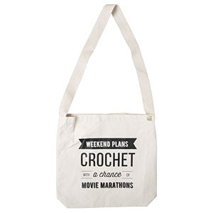 Crochet Weekend Plans Tote Bag
