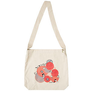Kitty Pile Tote Bag