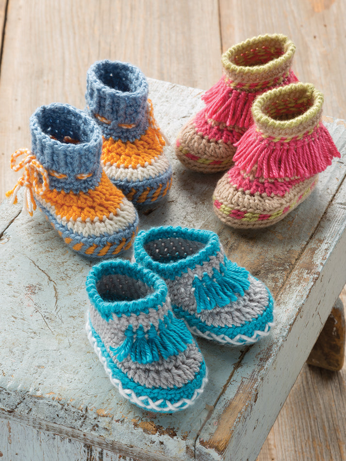 Baby Moccasins Pattern