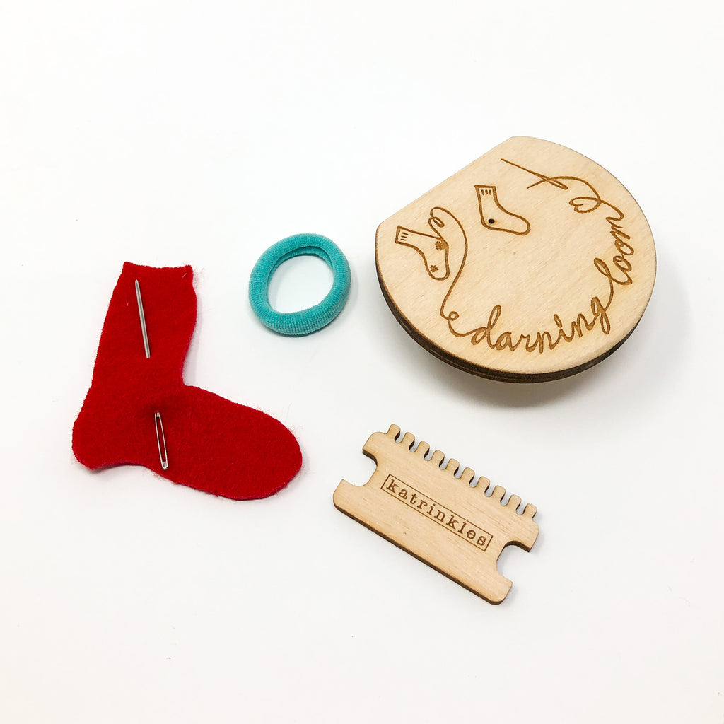 Darning & Mending Loom Kit