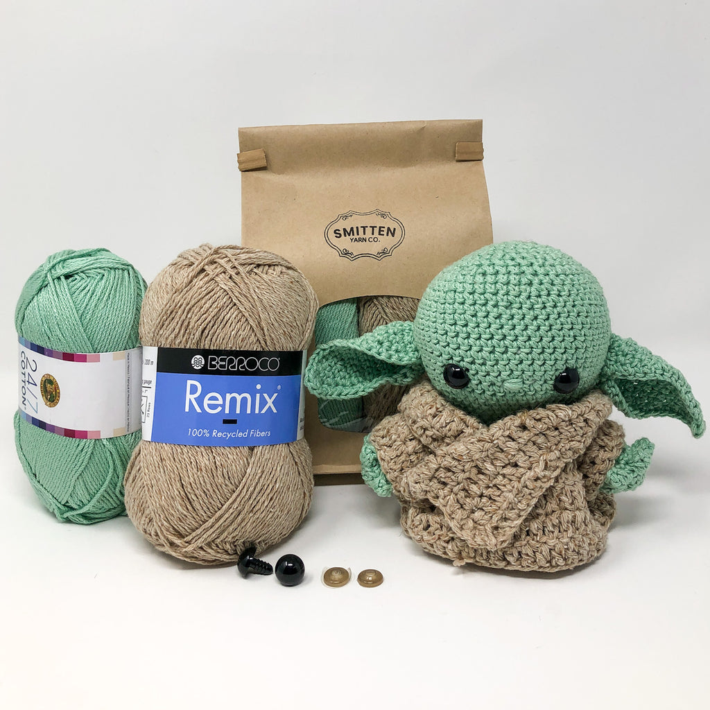 """The Child"" Crochet Baby Yoda Kit"