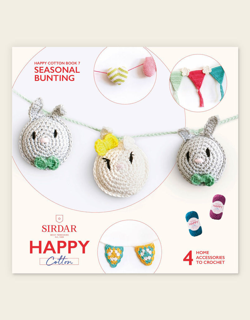 Sirdar - Happy Cotton Book 7: Seasonal Bunting