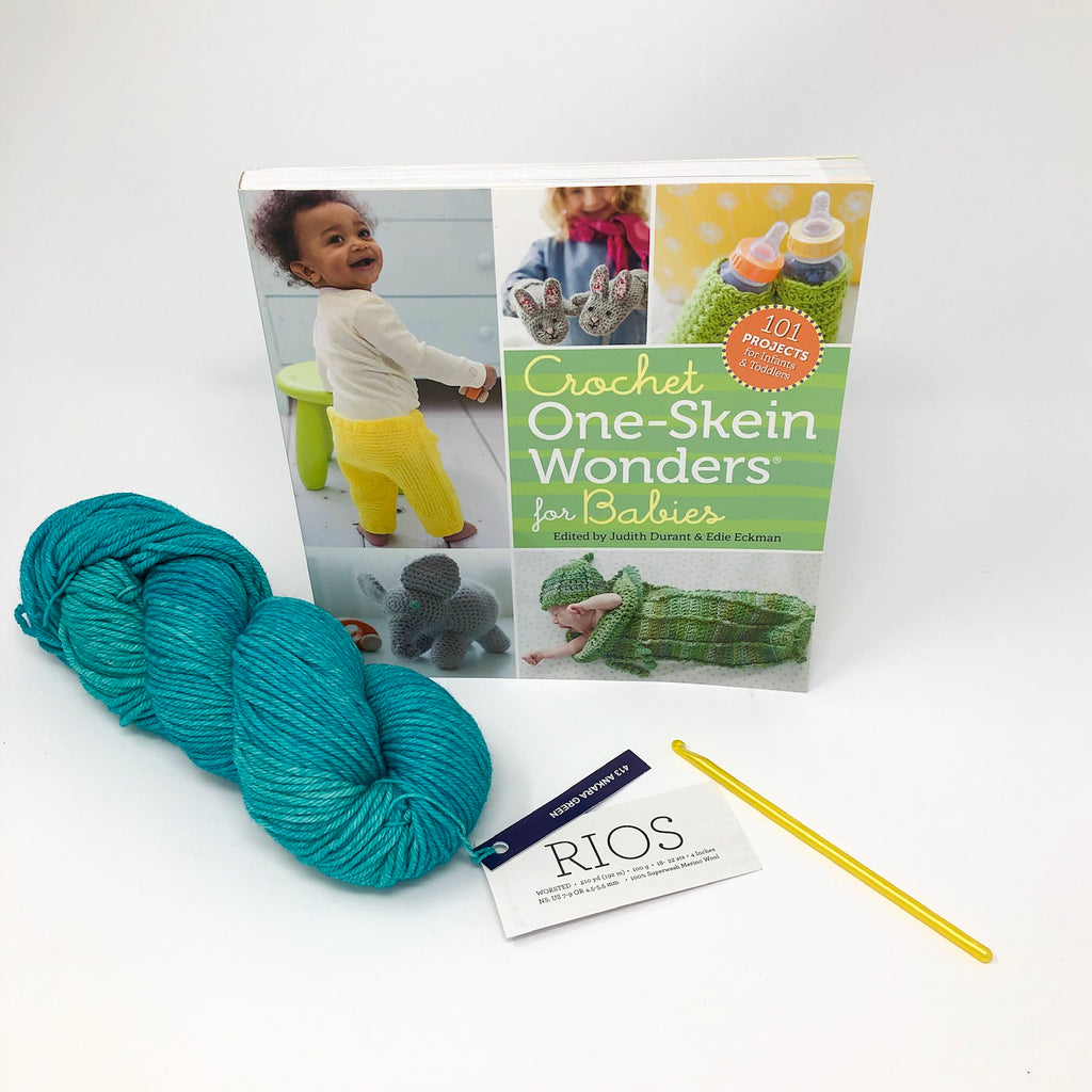Crochet One-Skein Wonders for Babies - Yarn and Hook Kit