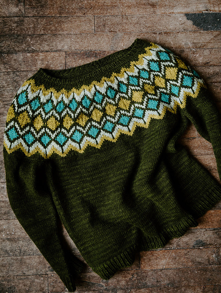 Sugarplum Sweater Pattern