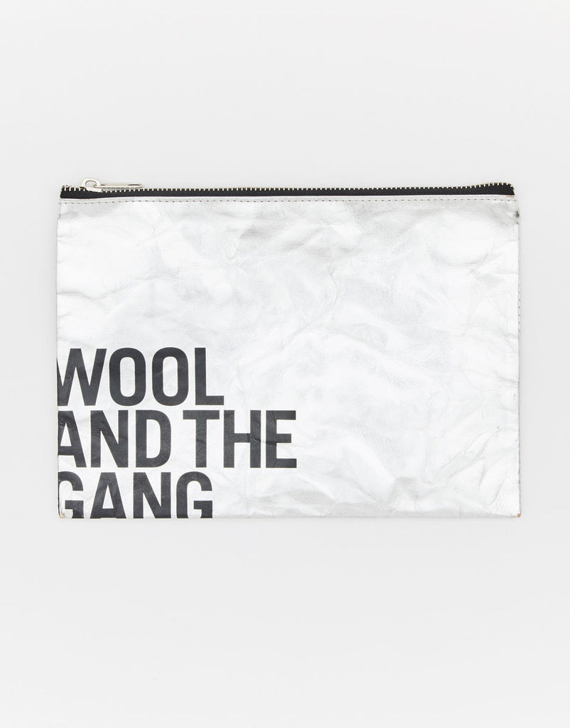 Wool and the Gang - Silver Pouch