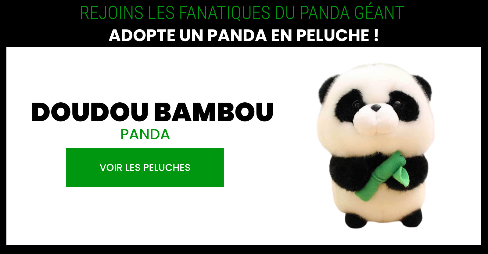plush panda that man bamboo