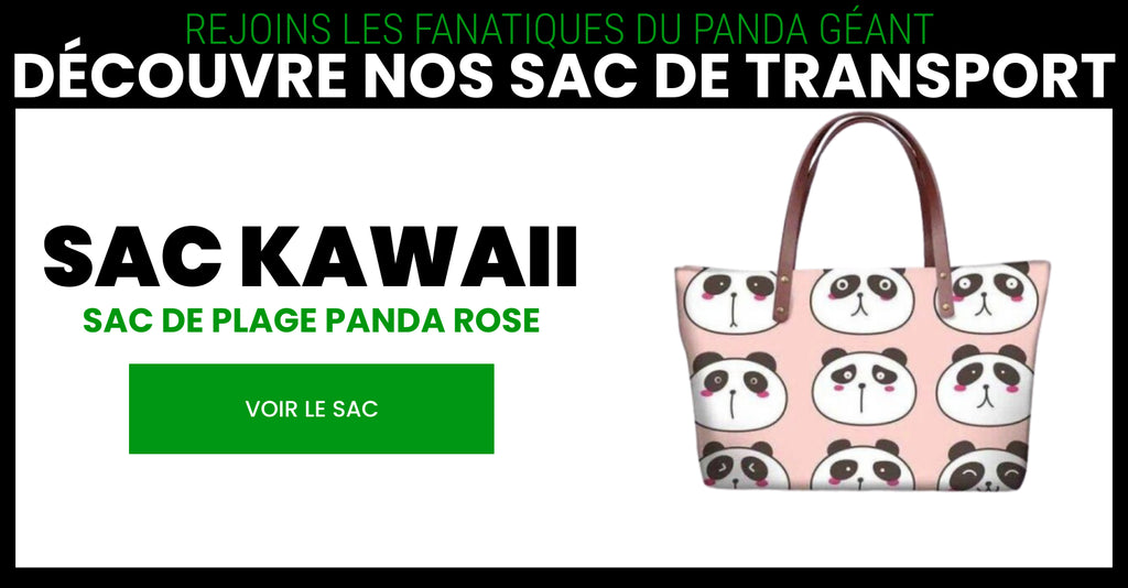sac kawaii univers de panda