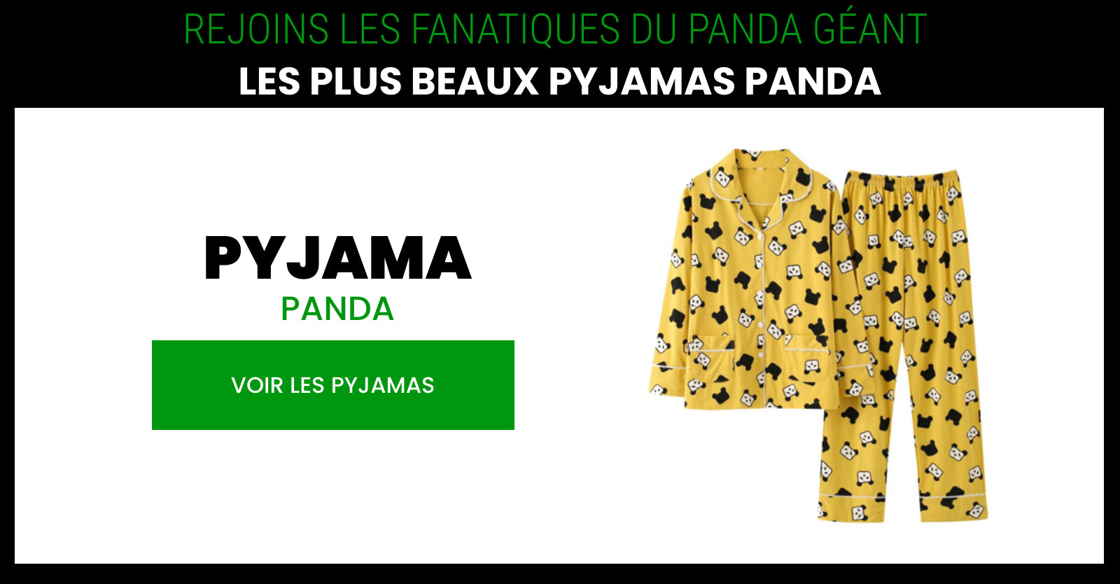 yellow panda pajamas
