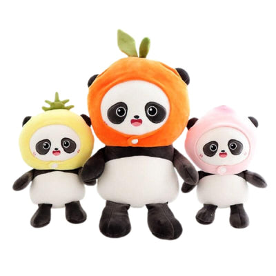Peluche Panda Fruit Kawaii - Univers de Panda