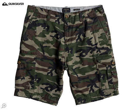 Shorts Quicksilver Camuflaje