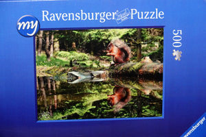 Red squirrel jigsaw 500 pieces