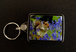 Squirrel Keyring