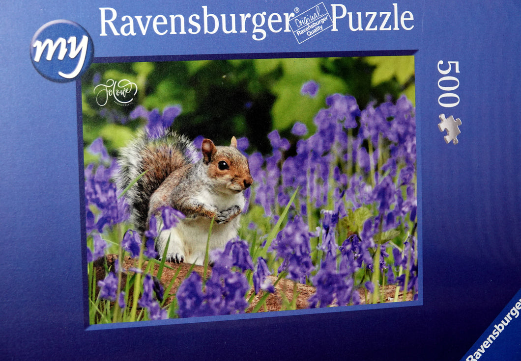 Grey squirrel jigsaw 500 pieces