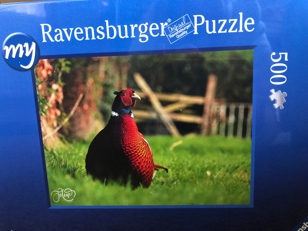 Pheasant jigsaw 500 pieces