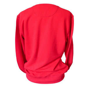 red#selfie.sweater.back.view