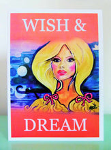 Load image into Gallery viewer, wishanddream.card2