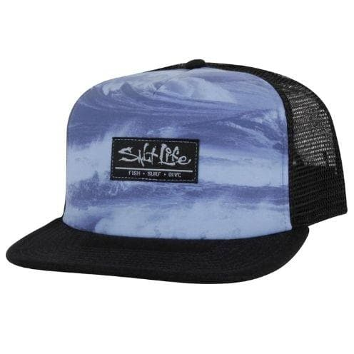 Headwear Salt Life Men's Storm Seas Trucker Cap - Shop The DocksSalt Life Headwear