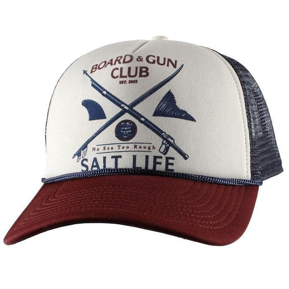 Headwear Salt Life Men's Board And Gun Club Mesh Cap - Shop The DocksSalt Life Headwear