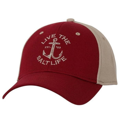 Headwear Salt Life Men's Anchored Stretch Fit Cap - Shop The DocksSalt Life Headwear