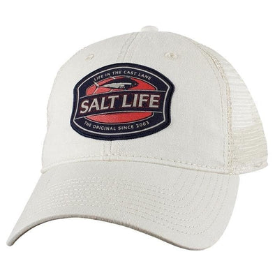 Headwear Salt Life Men's Life In The Cast Lane Mesh Cap - Shop The DocksSalt Life Headwear