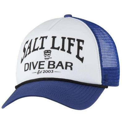 Headwear Salt Life Men's Diver Bar Trucker Mesh Cap - Shop The DocksSalt Life Headwear