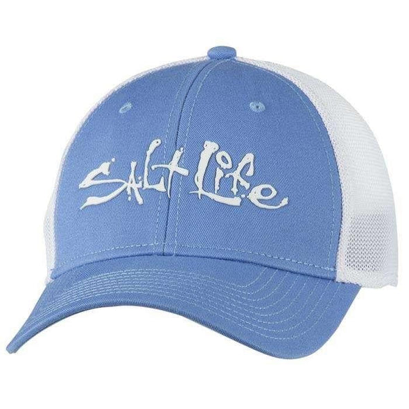 Headwear Salt Life Men's Fish Dive Surf Stretch Fit Mesh Cap - Shop The DocksSalt Life Headwear